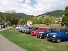Balade de véhicules historiques