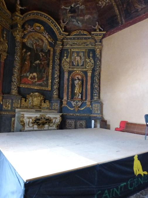 Auditorium de St Geniez d'Olt