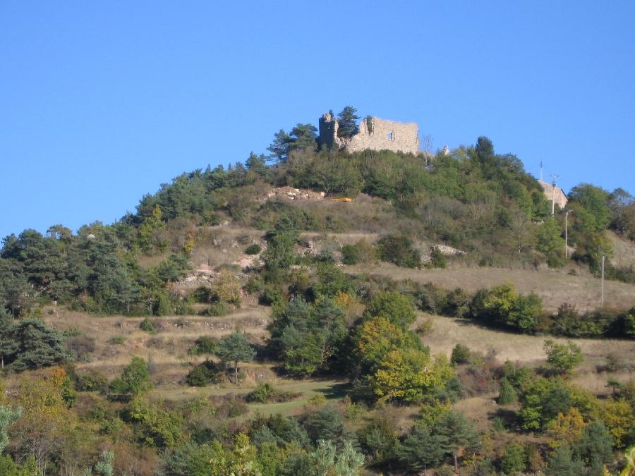 Participation libre reversée pour le Téléthon Le Château d'Algues ©OT Larzac et Vallées