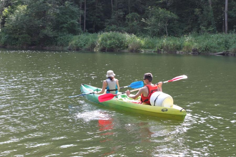 F'Estivales du Lot à l'Aubrac : sortie en canoé avec O'Paddle d'Olt