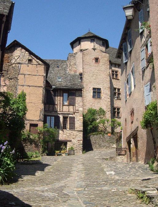 """Conques - Visite guidée """"Le village médiéval """""""