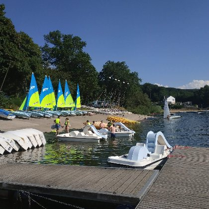 Base nautique, CYVP - Camping le Touring
