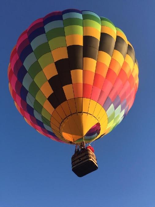 Vol libre en ballon Montgolfiere