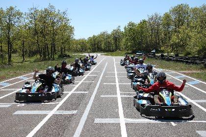 Parc de Loisirs des Bouscaillous karting, Parc de loisirs des Bouscaillous