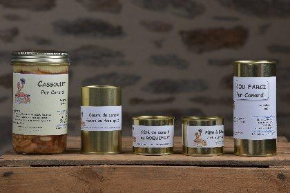Les Conserves Traditionnelles - Canards, OFFICE DE TOURISME DE PARELOUP LEVEZOU