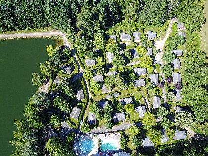 vue du ciel, Le hameau Saint Martial