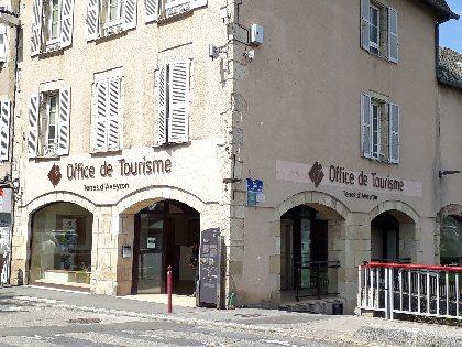 Office de Tourisme Terres d'Aveyron, bureau d'Information Touristique d'Espalion, OT Terres d'Aveyron