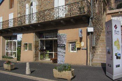 vue extérieure, Office de Tourisme Rougier d'Aveyron Sud