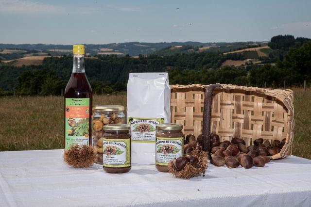 Goûtez La Châtaigne - Marrons de l'Aveyron