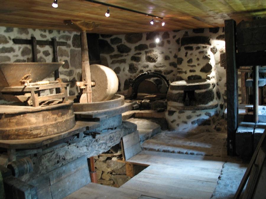 Moulin de Burée, Brommat