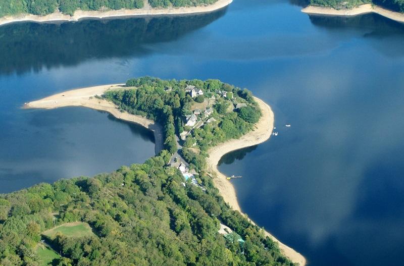 Site naturel de la Presqu'île de Laussac