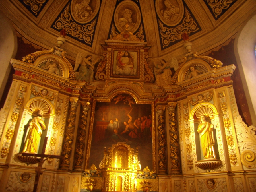 Rétable église St-Thomas Mur-de-Barrez