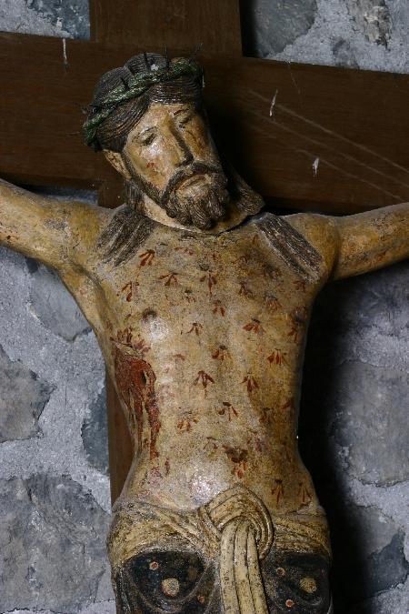 Christ Roman Eglise de Thérondels