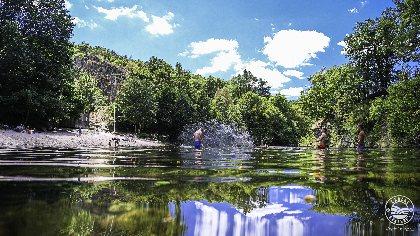 Plan d'eau de la Roque, Virginie Govignon - OT Larzac Vallées