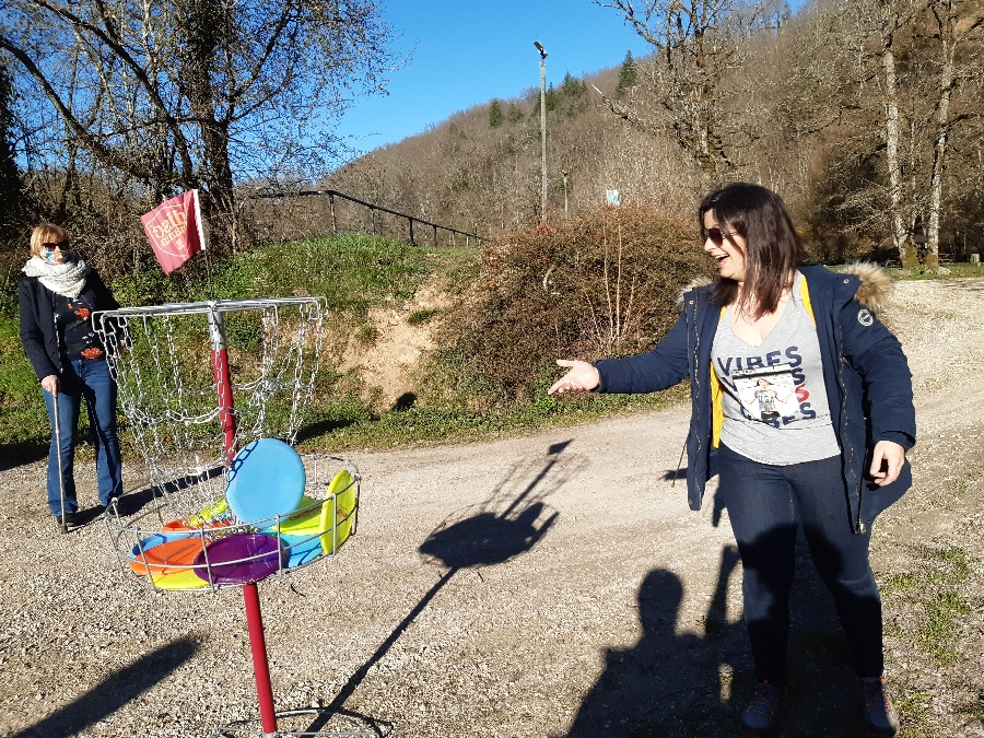 Disc-golf & foot-golf au fil du Lézert