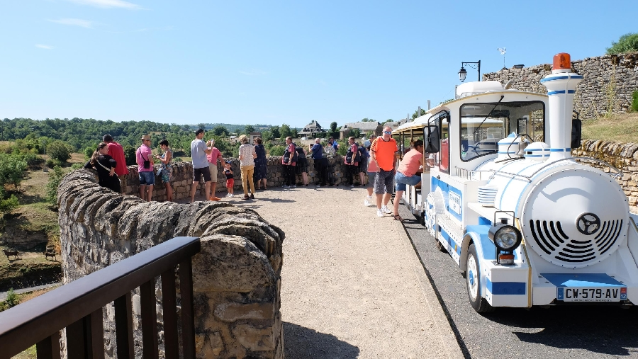 Train touristique de Bozouls