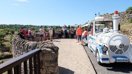 Découverte de Bozouls en petit train, Mairie de Bozouls