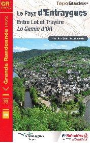 Topo guide 'Lo Camin d'Olt, le Pays d'Entraygues, Entre Lot et Truyère',