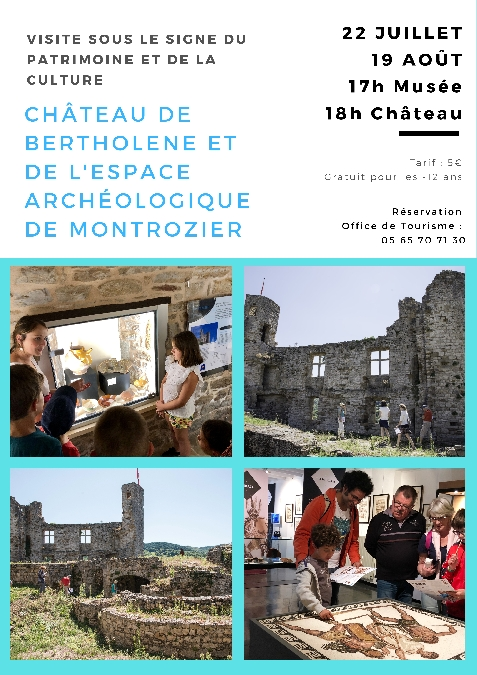 Visite guidée du Château de Bertholène et du Musée de Montrozier