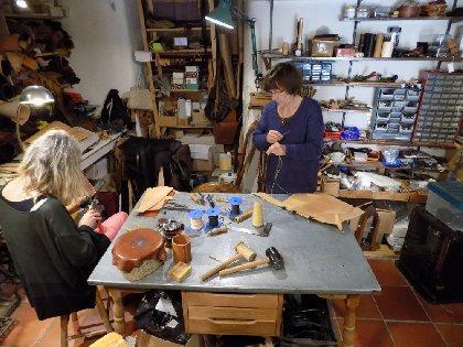 L'atelier du Cuir, OFFICE DE TOURISME LARZAC VALLEES