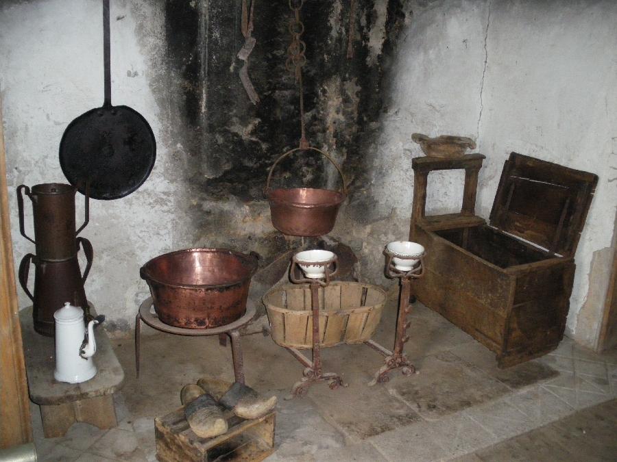 Maison du Bois - intérieur - à Taussac