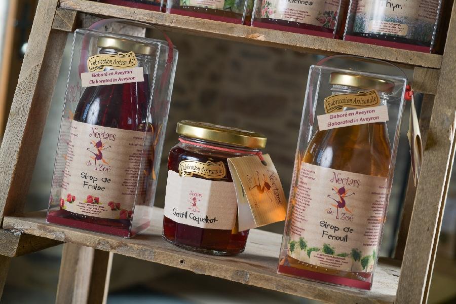 Les Nectars de Zoé - Préparation de fruits et sirops artisanaux
