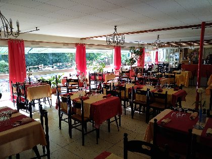 Salle du restaurant,