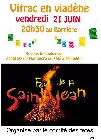 Feu de la St Jean de Vitrac-en-Viadène