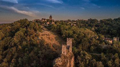 Visite du village de Peyrusse le Roc et du site médiéval , OFFICE DE TOURISME DU PLATEAU DE MONTBAZENS