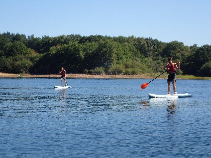 Stand Up Paddle, Grimpe et Cimes