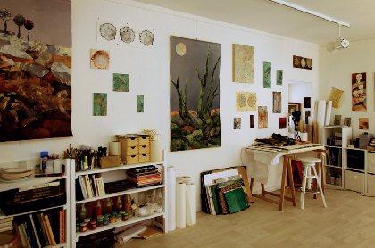 Madeleine Sarrouy - artiste peintre, OFFICE DE TOURISME LARZAC VALLEES
