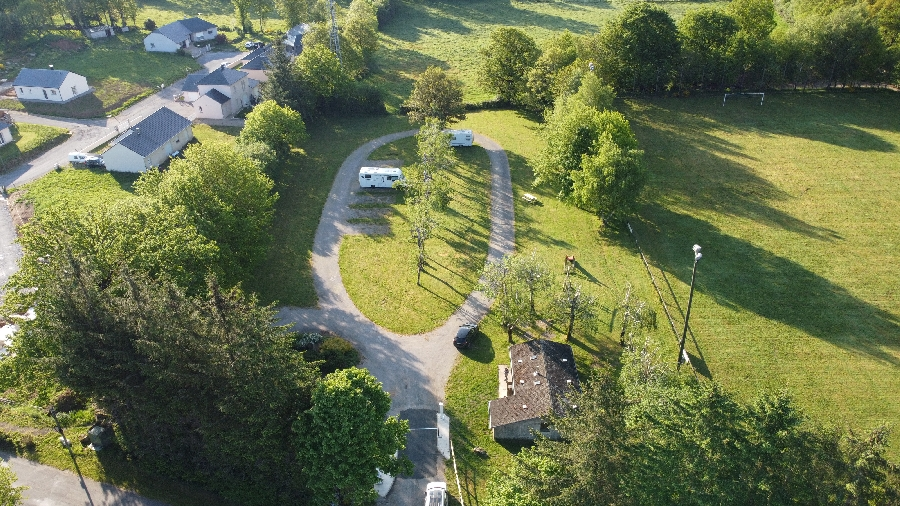 Aire de camping-car municipale de Canet-de-salars