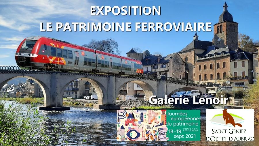 Journées Européennes du Patrimoine : Exposition sur le ferroviaire à la Galerie Lenoir