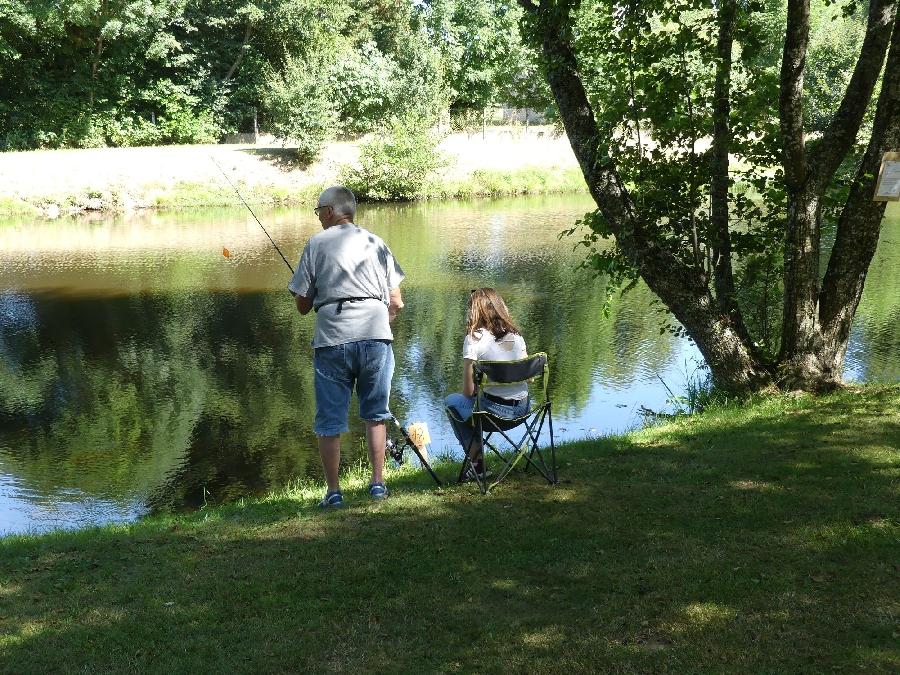 Concours de pêche à Ste Geneviève sur Argence
