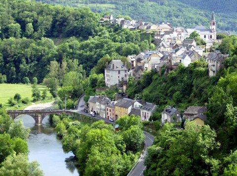 Cyclotourisme : Circuit de St Laurent d'Olt