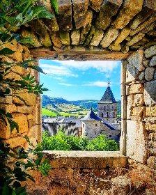 Cité médiévale de Sévérac-le-Château , ©J-P. PLA