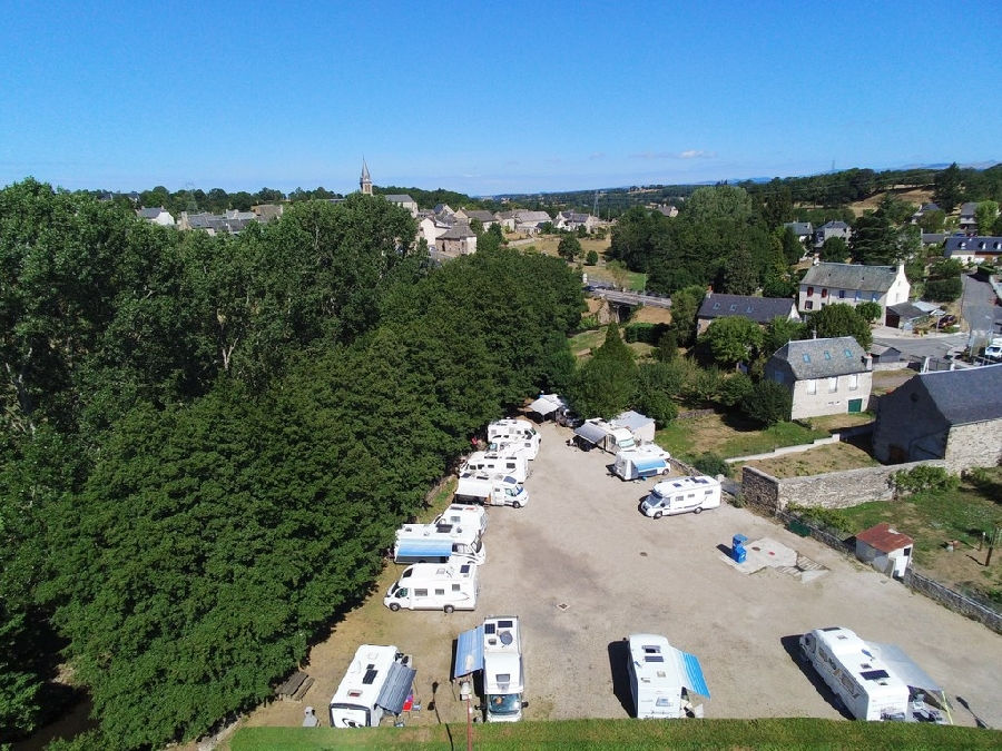 Aire de camping-car Municipale Flot Bleu