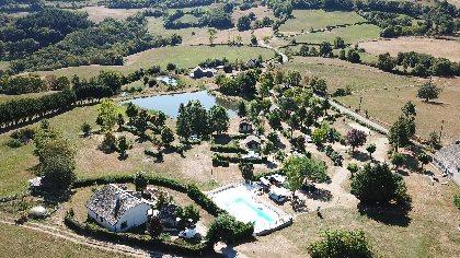Camping de Trionac, OFFICE DE TOURISME DU CANTON DE MUR DE BARREZ
