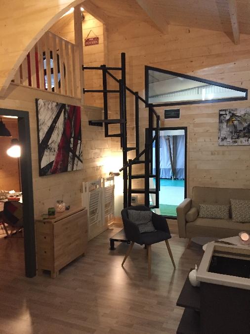 Interieur chalet Ontario Duplex