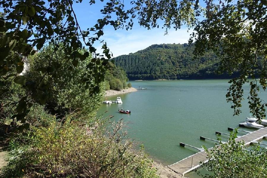 Le lac Camping La Source
