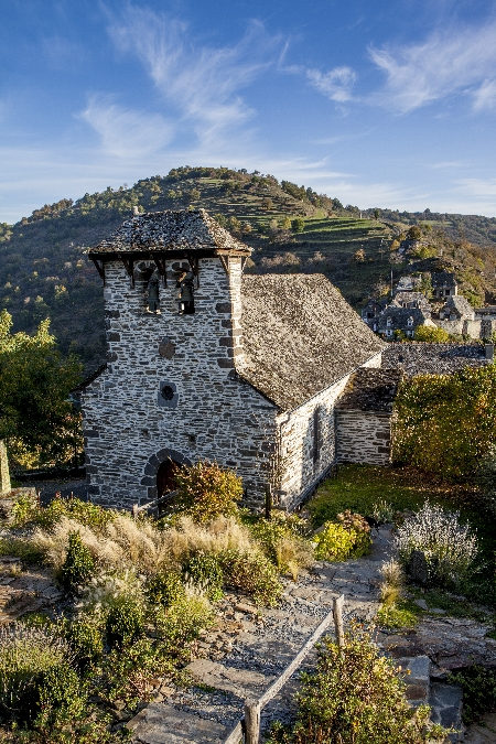 Eglise du village de Valon Site remarquable de France et d'Europe