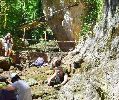 Espace Archéologique Départemental de Montrozier
