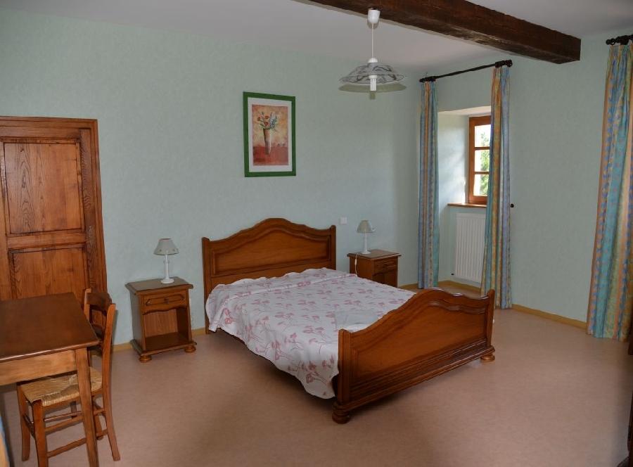 2 chambres lit en 140