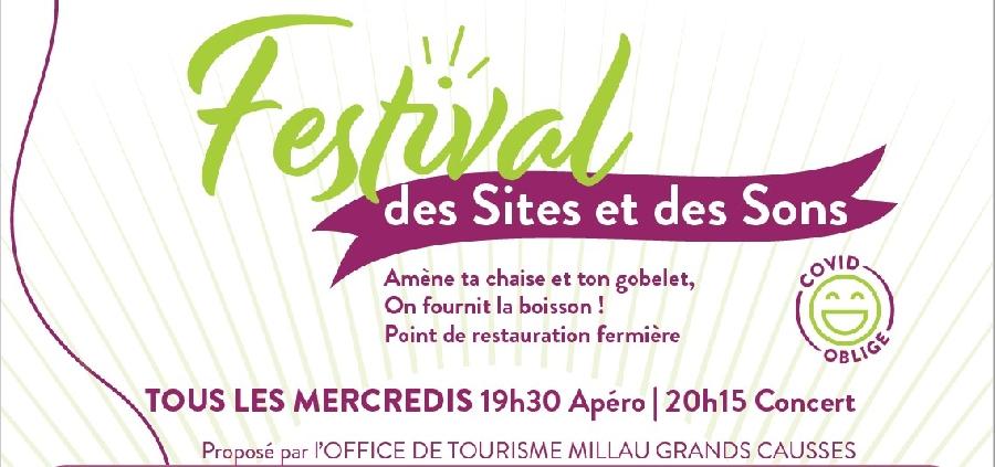 Festival des Sites et des Sons à St Georges de Luzençon