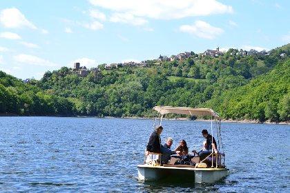 O'Paddle d'Olt : Bateaux électriques sur le lac de Castelnau-Lassouts-Lous