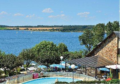 CAMPING BEAU RIVAGE - Lac de Pareloup,