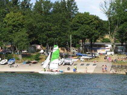 Camping Le Touring** - Lac de Pareloup