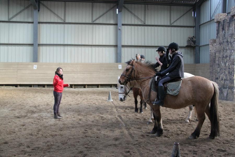 Ranch du Barrez: école d'équitation