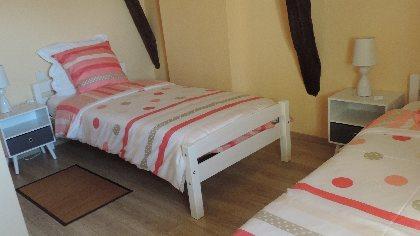 Chambre Tournesols, 2 lits simples,