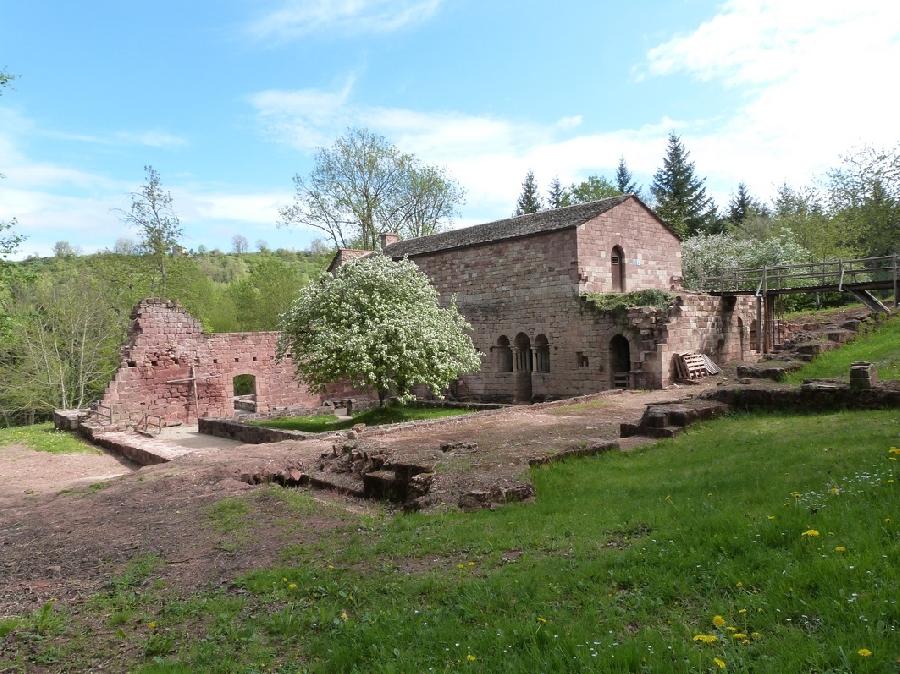 Visite du prieuré du Sauvage